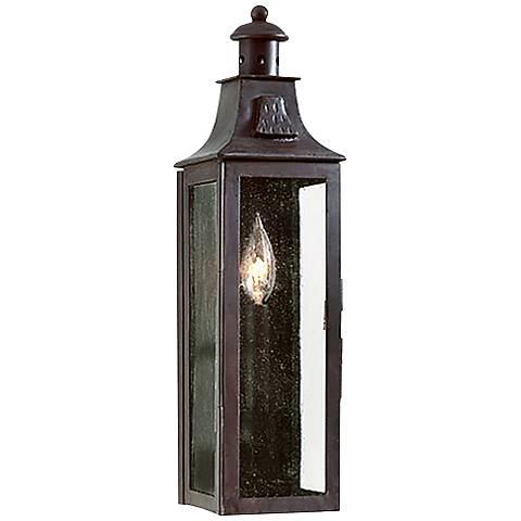 """Newton Collection 17 1/2"""" High Outdoor Wall Lantern"""