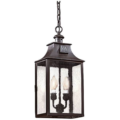 "Newton Collection 18 5/8"" High Outdoor Hanging Light"