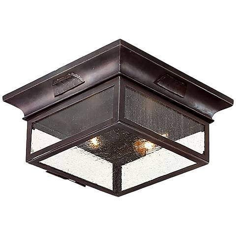 "Newton Collection 12 3/4"" Wide Outdoor Ceiling Light"