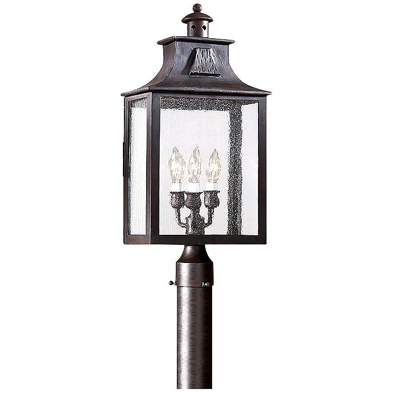"""Newton Collection 23"""" High Outdoor Post Light"""