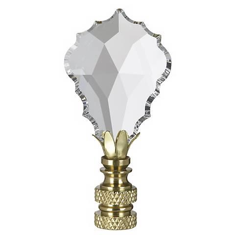 Swarovski Gothic Cross Lamp Shade Finial