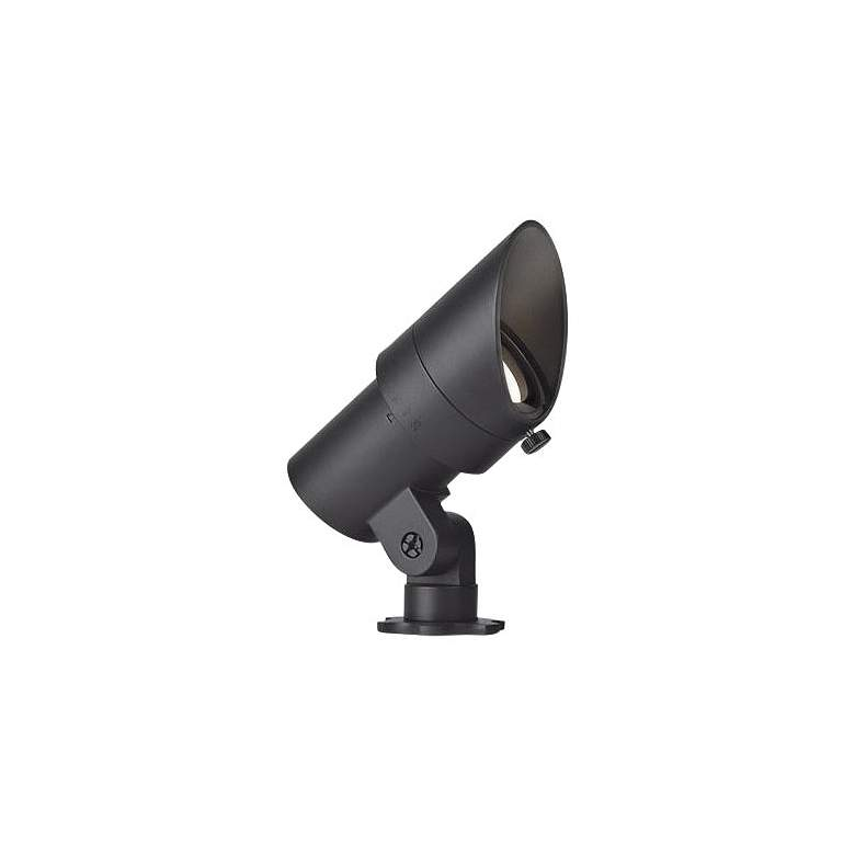 "WAC Landscape 4"" High Black 3000K LED Mini Accent Spot Light"