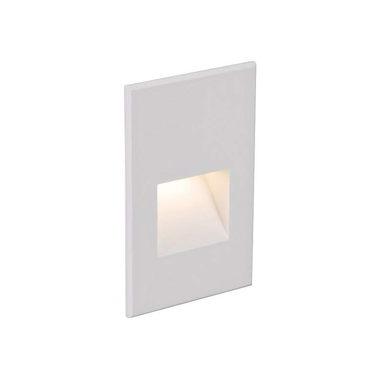 "WAC LEDme 3""W White Vertical 2700K LED Step and Wall Light"