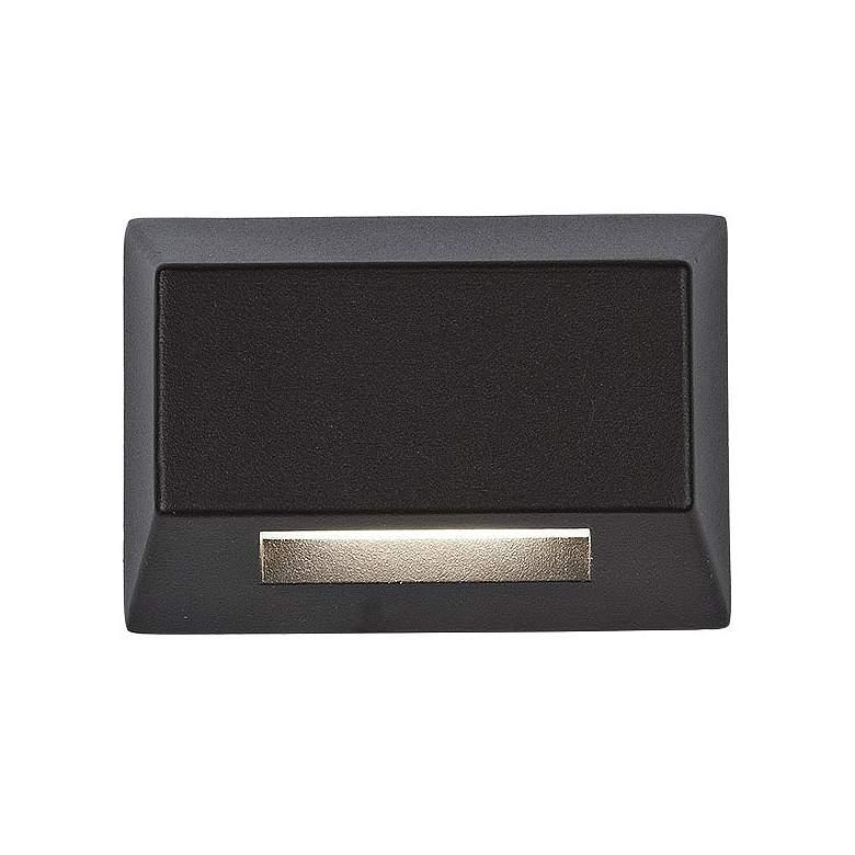 "WAC LEDme 3 1/2""W Bronze Rectangular LED Deck or Patio Light"
