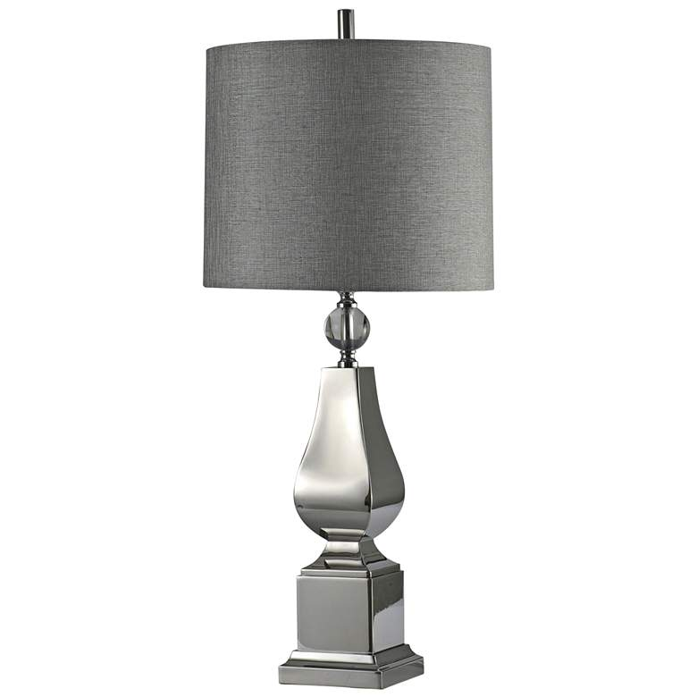 Irving Chrome Table Lamp with Crystal Ball