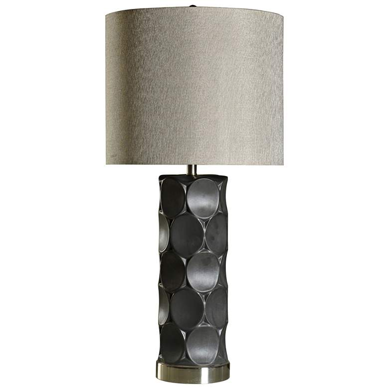 Rutherford Charcoal Ceramic Table Lamp
