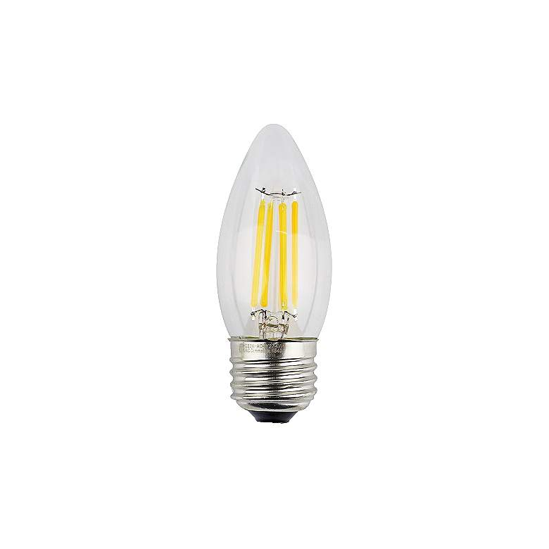 40W Equivalent Clear 12W 12 Volt LED Dimmable E26 Torpedo