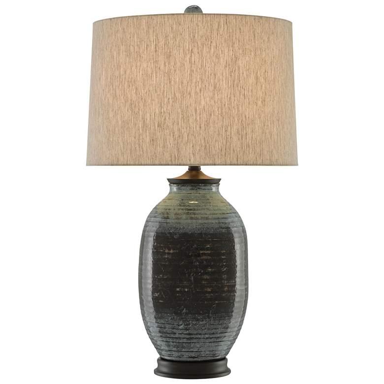 Shepherd Mossy Green Terracotta Table Lamp