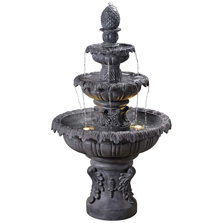 """Ibiza 45"""" High 3-Tiered Traditional Fountain"""