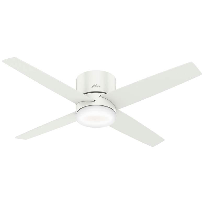 """54"""" Hunter Advocate Fresh White LED Hugger Ceiling Fan"""