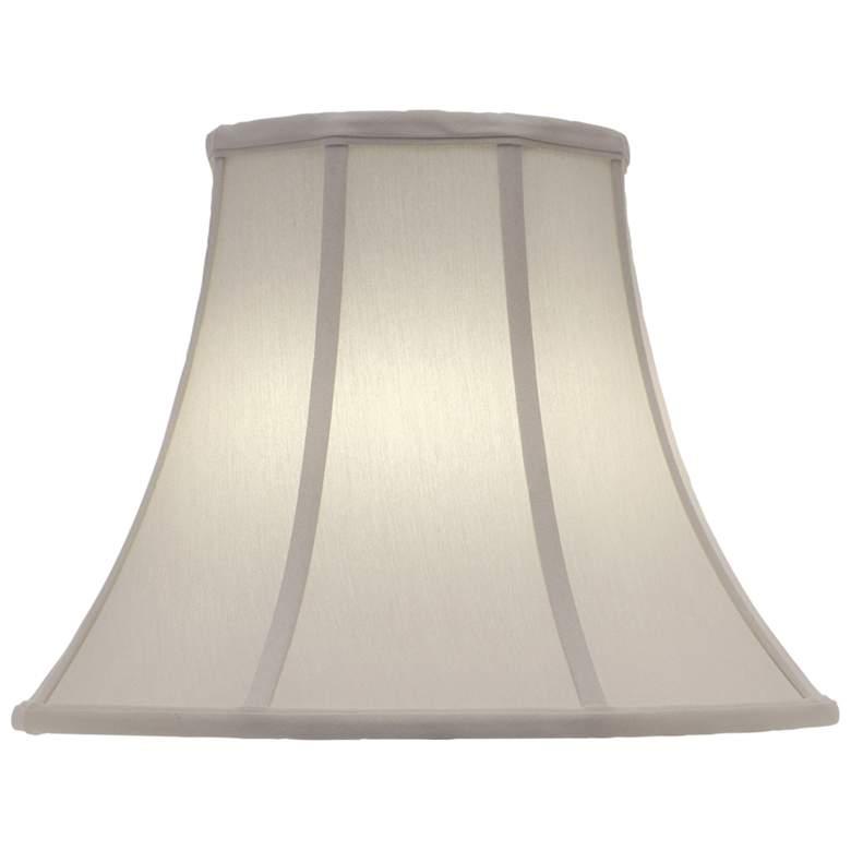 Stiffel Ivory Shadow Bell Lamp Shade 10x20x15 (Spider)