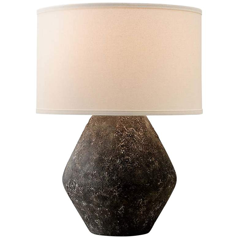 Artifact Graystone Ceramic Accent Table Lamp
