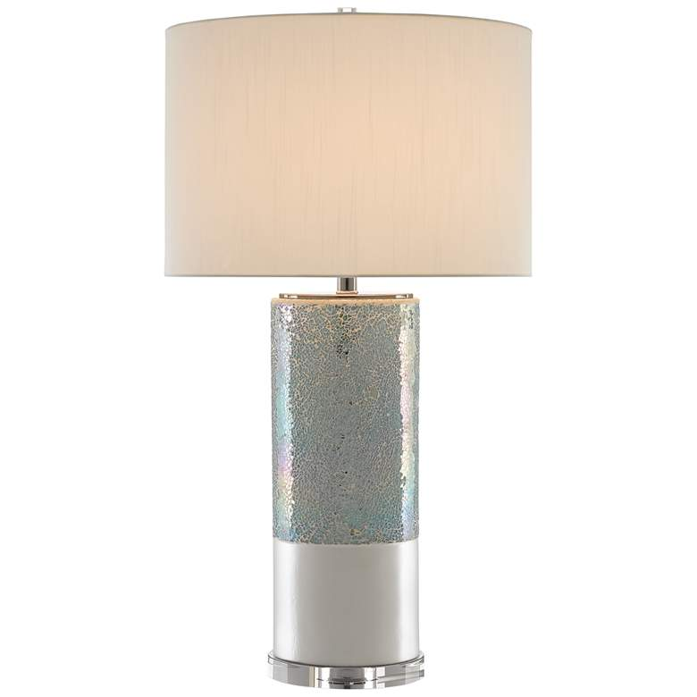 Currey and Company Chiazza Pearl Glaze Table Lamp