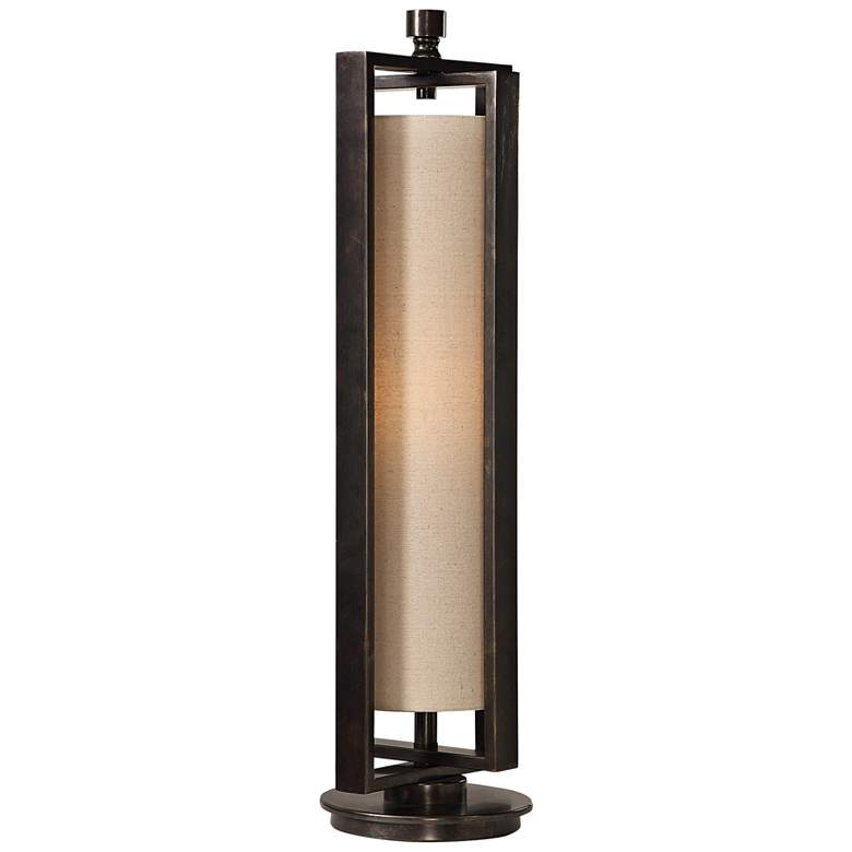 Uttermost Lanier Gun Metal Black Uplight Buffet Table Lamp
