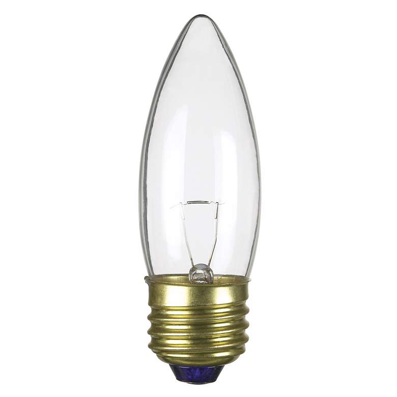 Medium Base 40-Watt Clear Torpedo Light Bulb