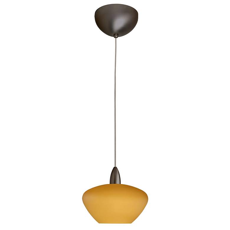 Peri Collection Amber Mini Pendant Chandelier