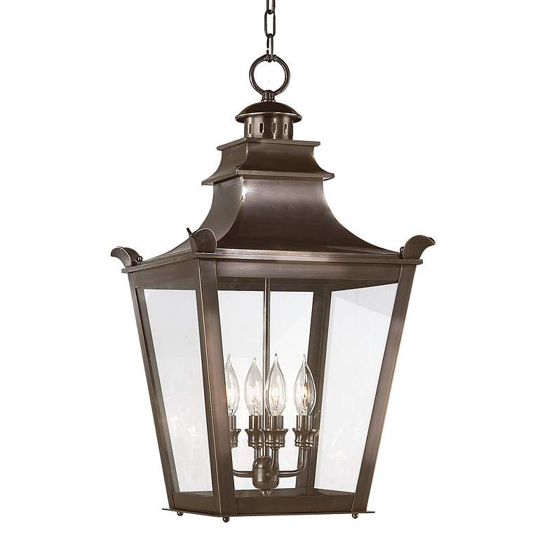 """Dorchester Collection 26"""" High Outdoor Hanging Light"""