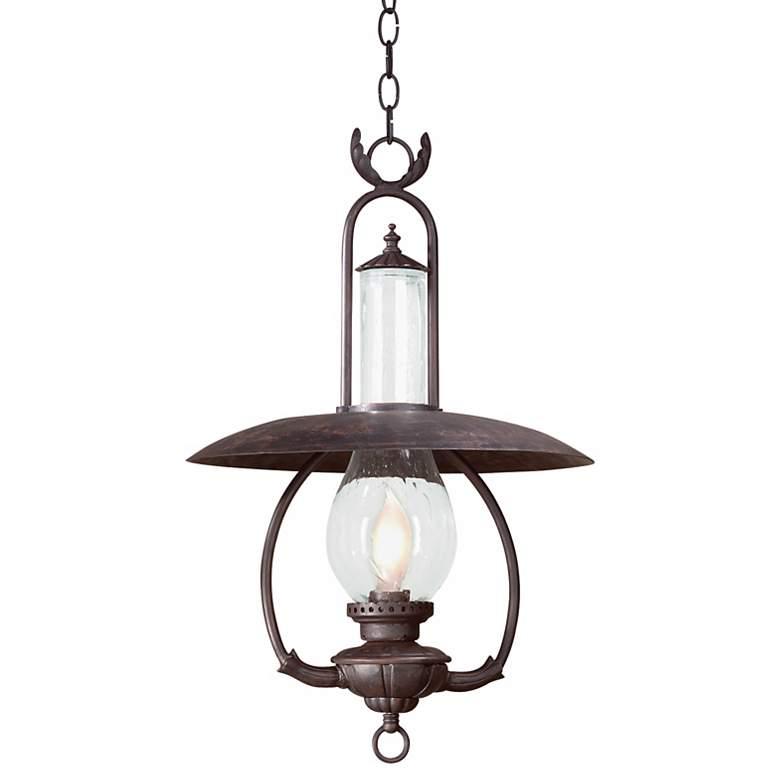 """La Grange 26 1/2"""" High Outdoor Hanging Lantern"""