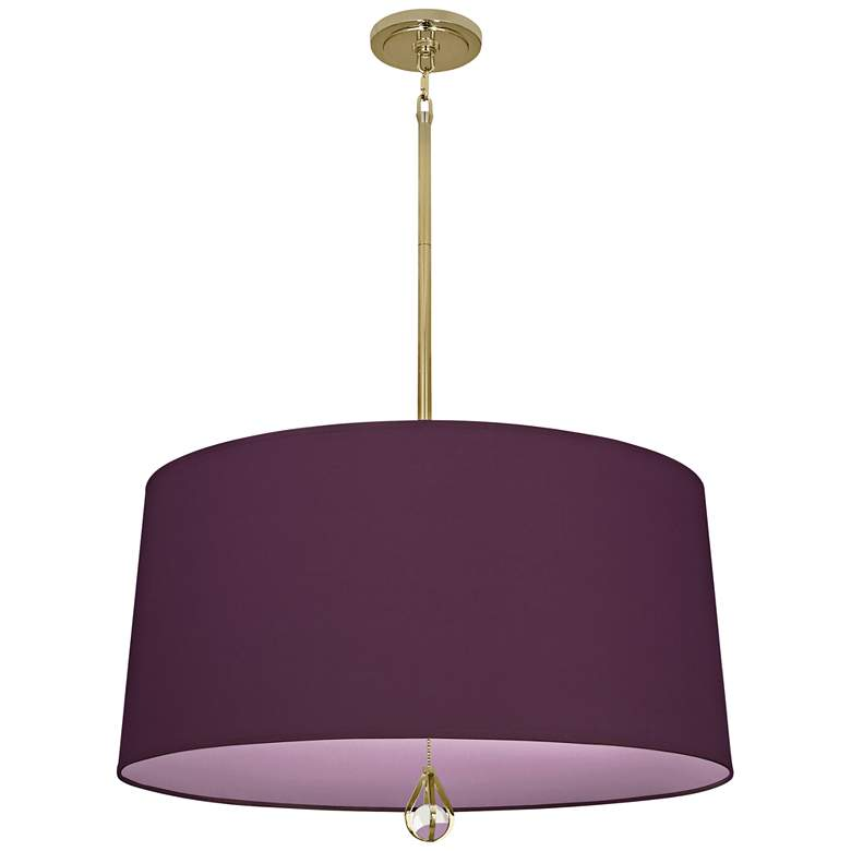 "Custis Collection 25 1/2""W Grape and Ludwell Lilac Pendant"
