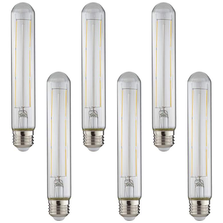 75W Equivalent Clear 10W LED Dimmable Standard T30 6-Pack