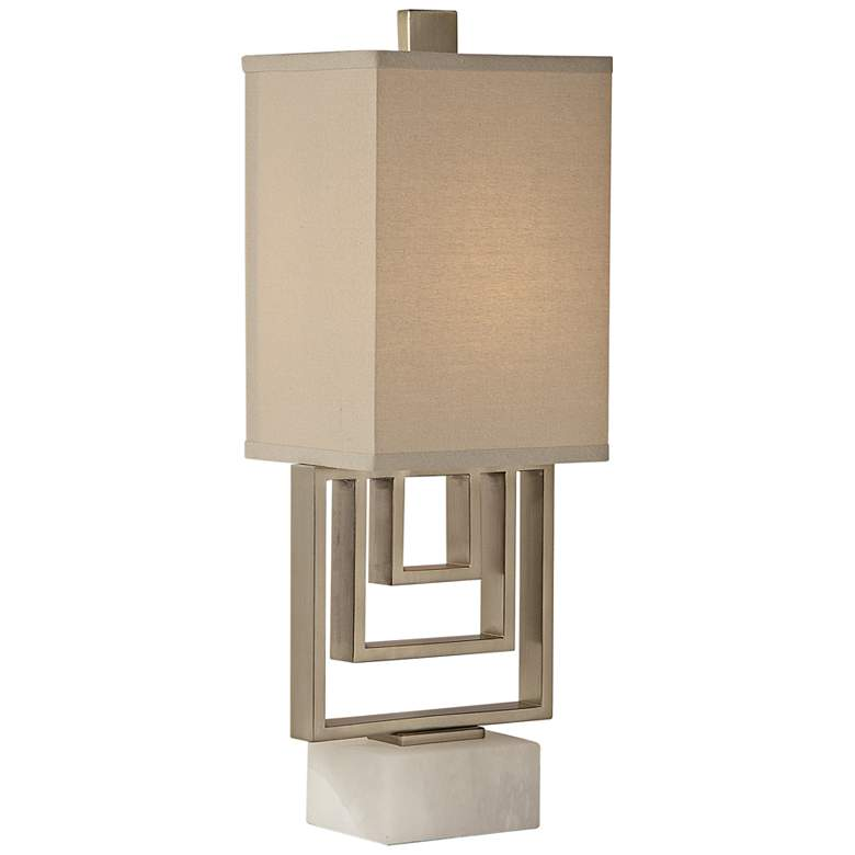Uttermost Medora Brushed Nickel Buffet Table Lamp