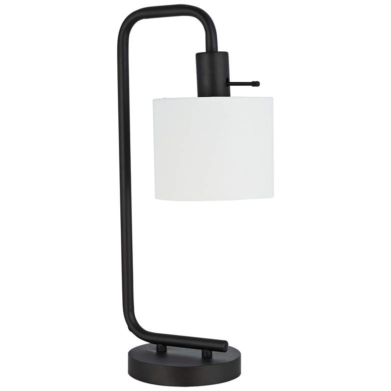 Dinardo Oil-Rubber Bronze Down Bridge Desk Lamp