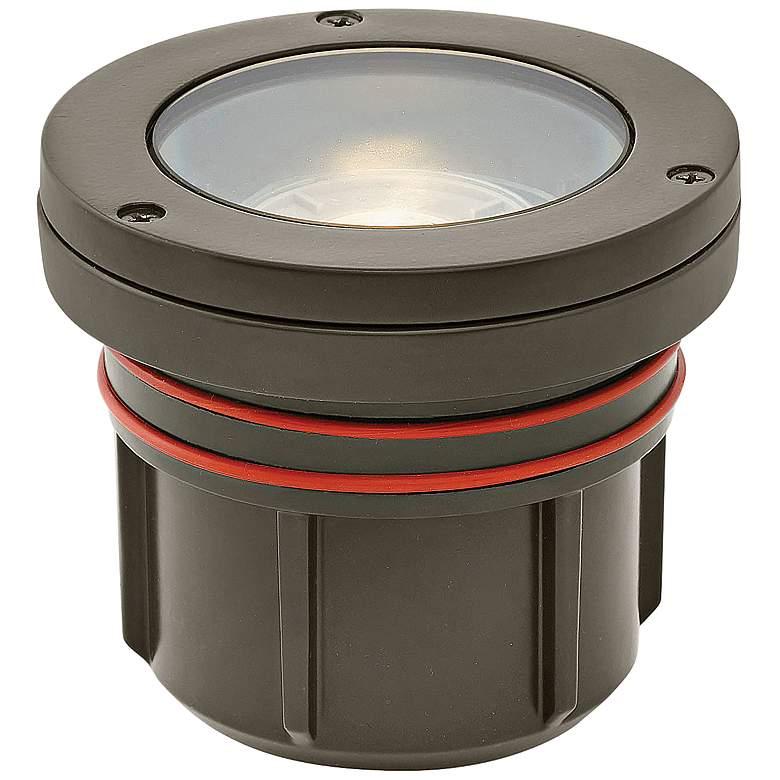 Hinkley Flat Top Bronze 3 Watt 2700K LED Outdoor Well Light