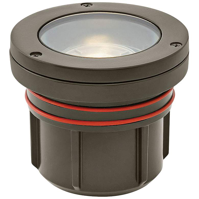 Hinkley Flat Top Bronze 12 Watt 2700K LED Outdoor Well Light