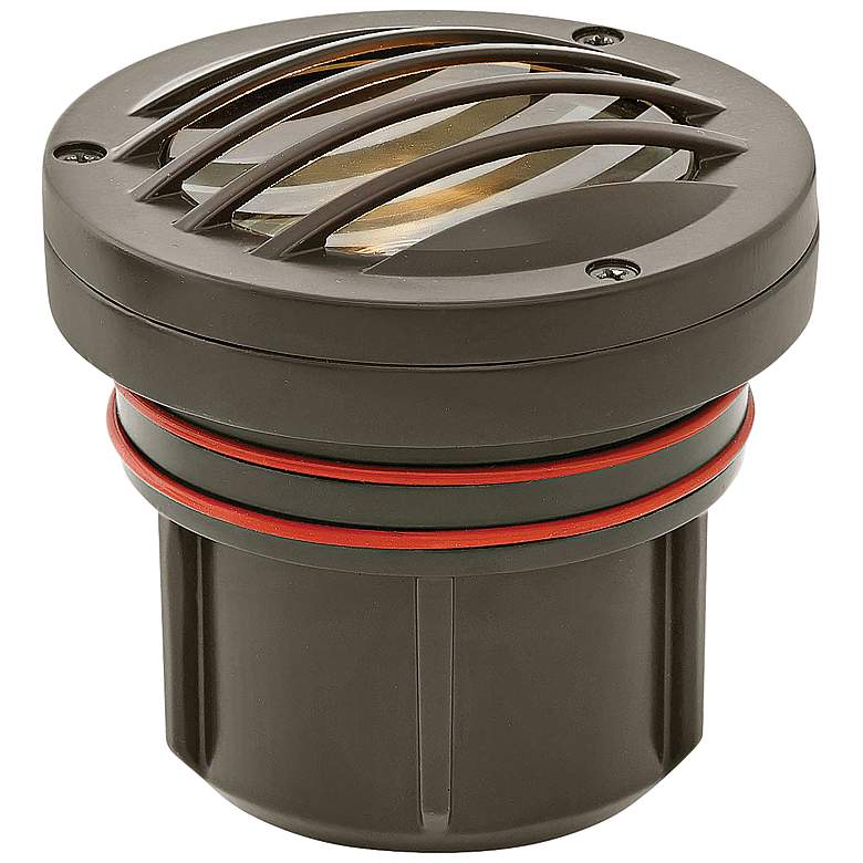 Hinkley Grill Top Bronze 12W 2700K LED Outdoor Well Light