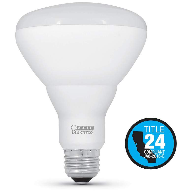 65W Equivalent  7W LED Dimmable Standard T24 BR30 Bulb