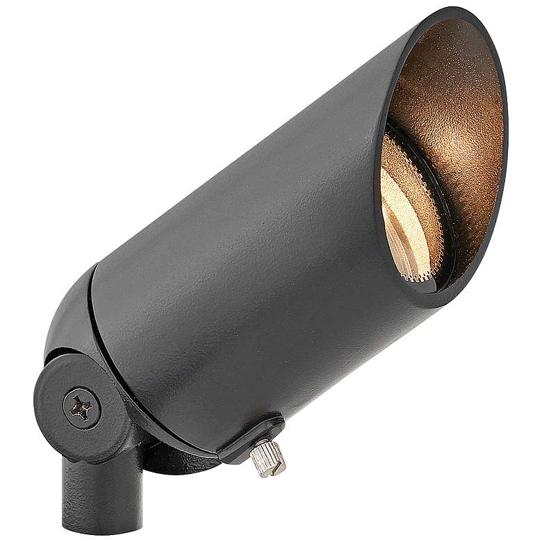 "Hinkley 3 1/4""H Satin Black 12W 2700K LED"