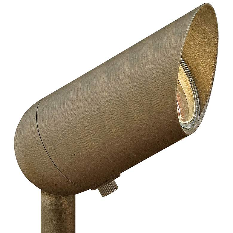 "Hardy Island 3 1/4""H Matte Bronze 12W 3000K LED Spot Light"