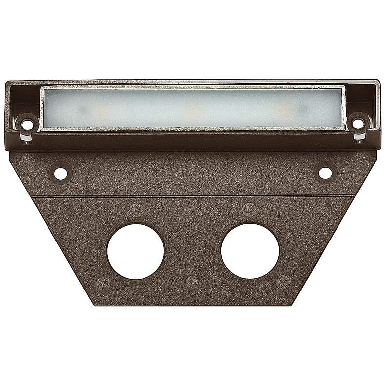 """Hinkley Nuvi 5"""" Wide Bronze LED Landscape Deck"""