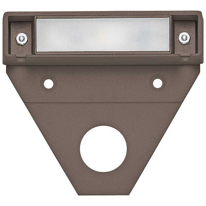 "Hinkley Nuvi 3 1/4"" Wide Bronze LED Landscape"