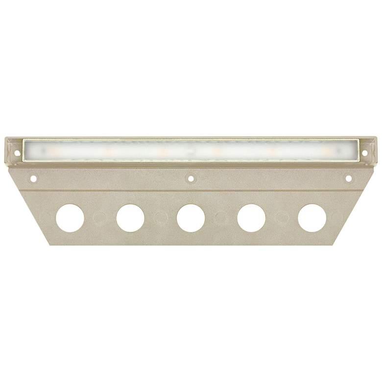 """Hinkley Nuvi 10"""" Wide Sandstone LED Landscape Deck Light"""