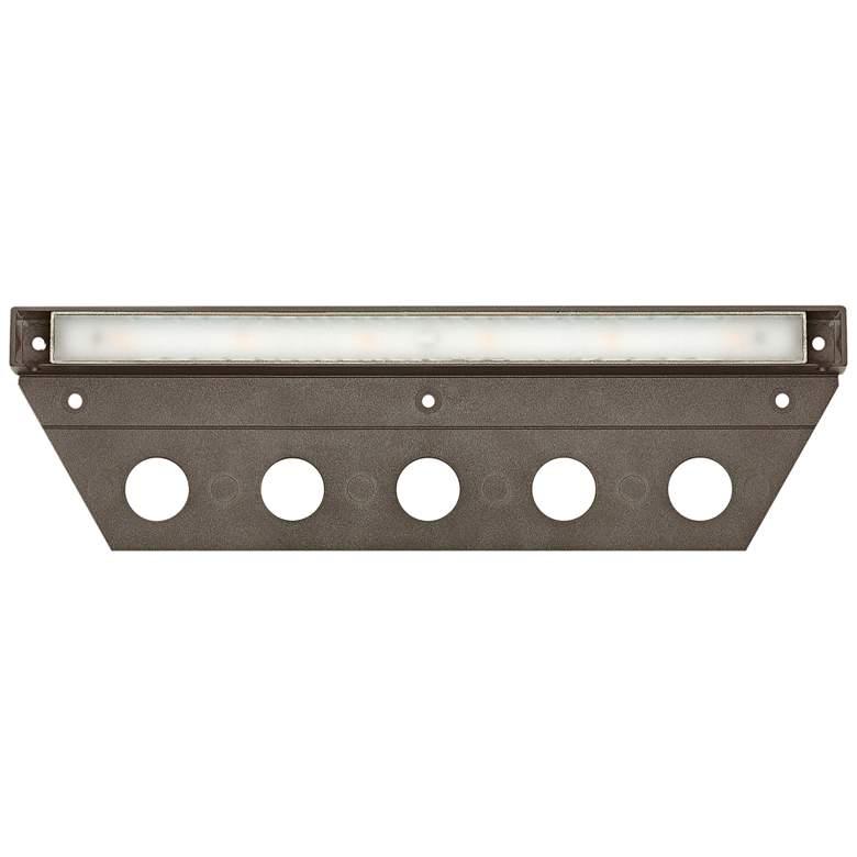 """Hinkley Nuvi 10"""" Wide Bronze LED Landscape Deck Light"""