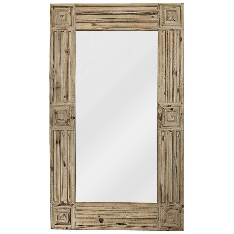 "Stage II Natural Wood 24 1/2"" x 38 1/2"" Wall Mirror"