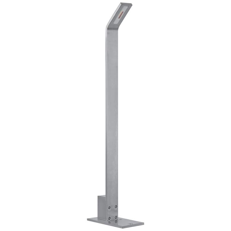 "ET2 Alumilux 23 1/2""H Satin Aluminum LED Path"