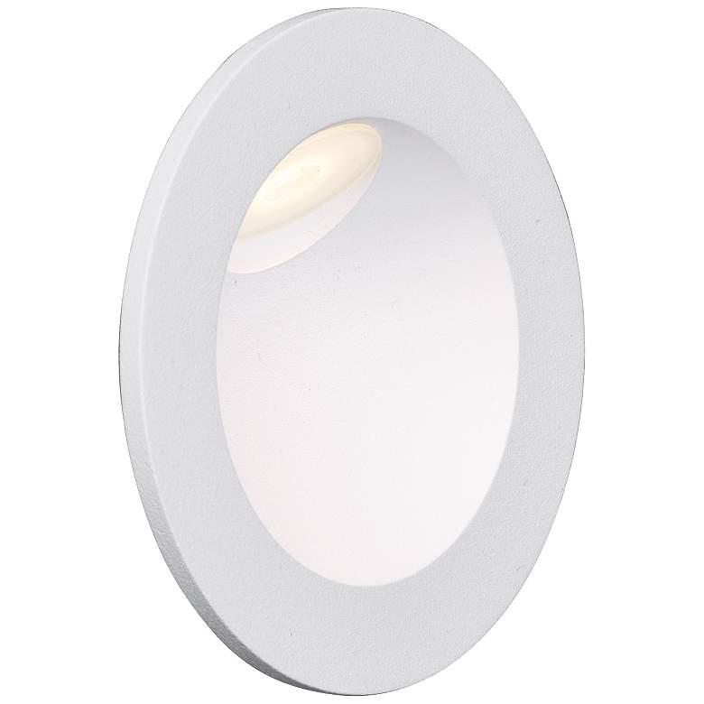 """ET2 Alumilux 3 1/4"""" Round White Low Voltage"""