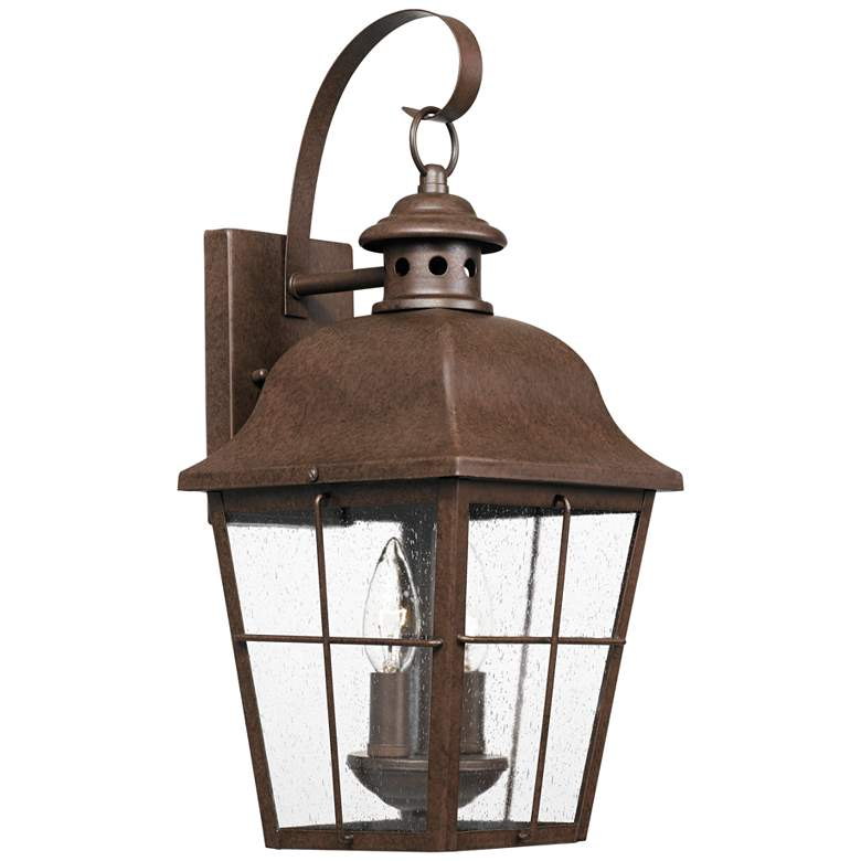 "Quoizel Millhouse 18 1/2""H Copper Bronze Outdoor Wall Light"
