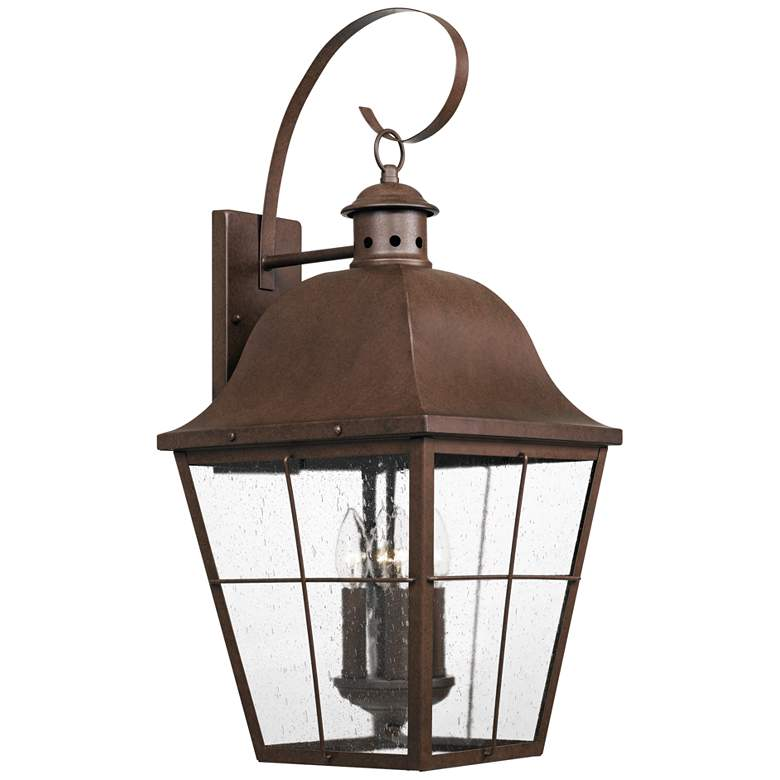 "Quoizel Millhouse 27 1/4""H Copper Bronze Outdoor Wall Light"