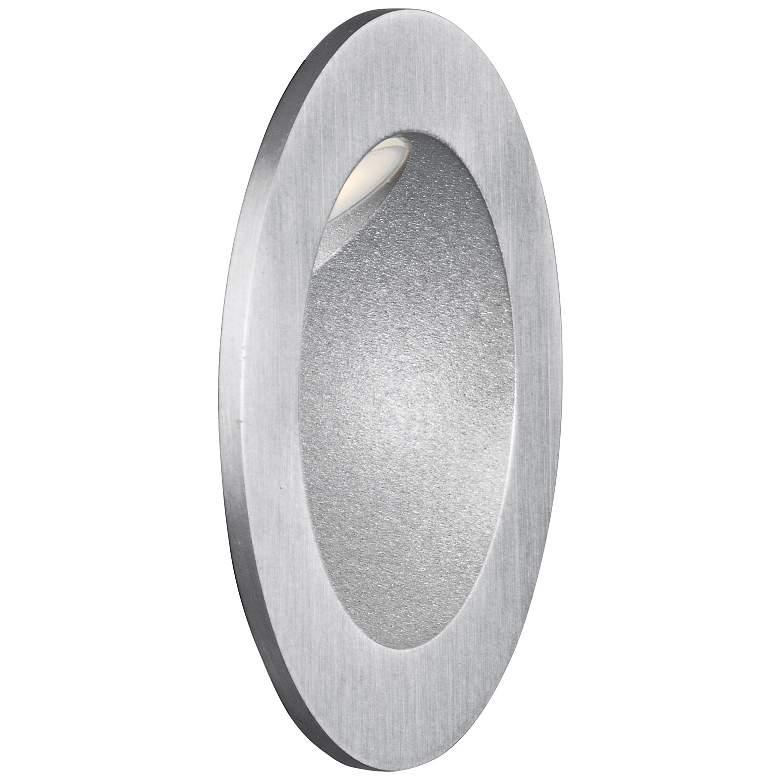 """ET2 Alumilux 3 1/4"""" Round Satin Aluminum 12V"""