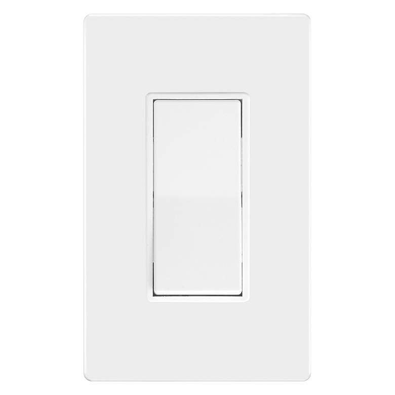 Tesler On/Off Rocker Switch With Screwless Faceplate