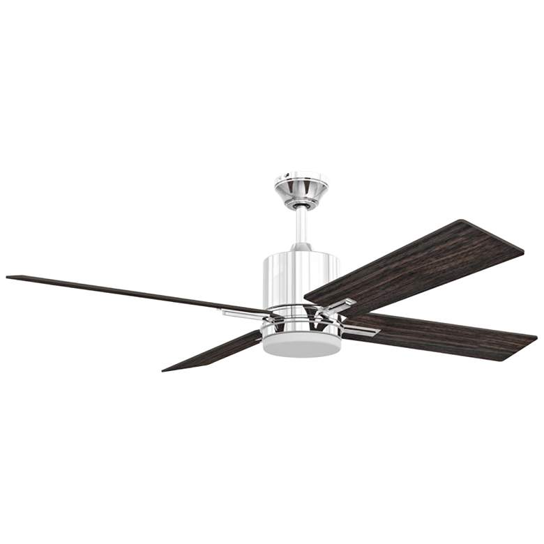 "52"" Craftmade Teana Chrome LED Ceiling Fan"