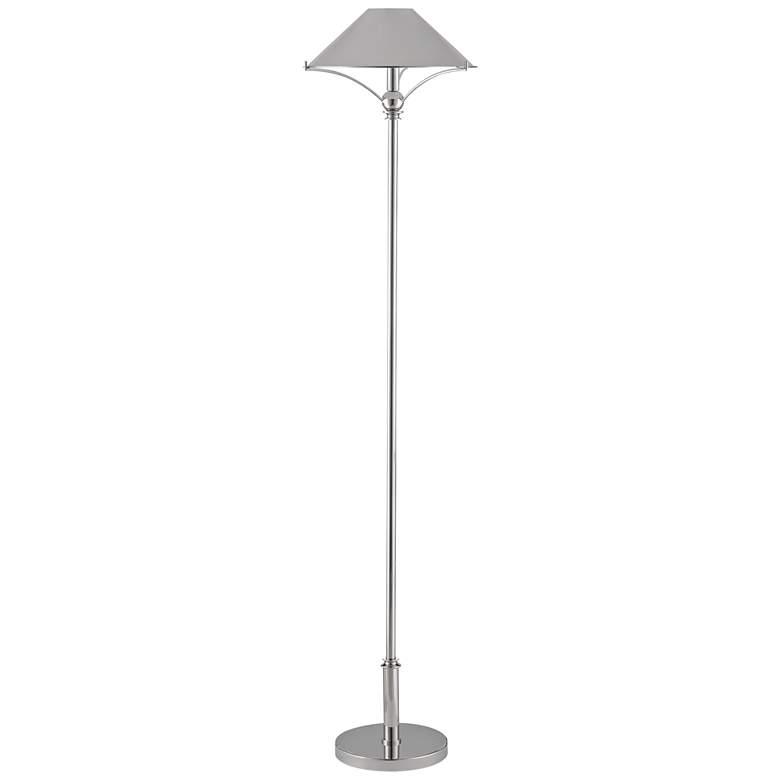 Currey and Company Maarla Polished Nickel Table Lamp