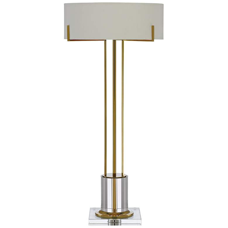 Currey and Company Winsland Polished Brass LED Table Lamp
