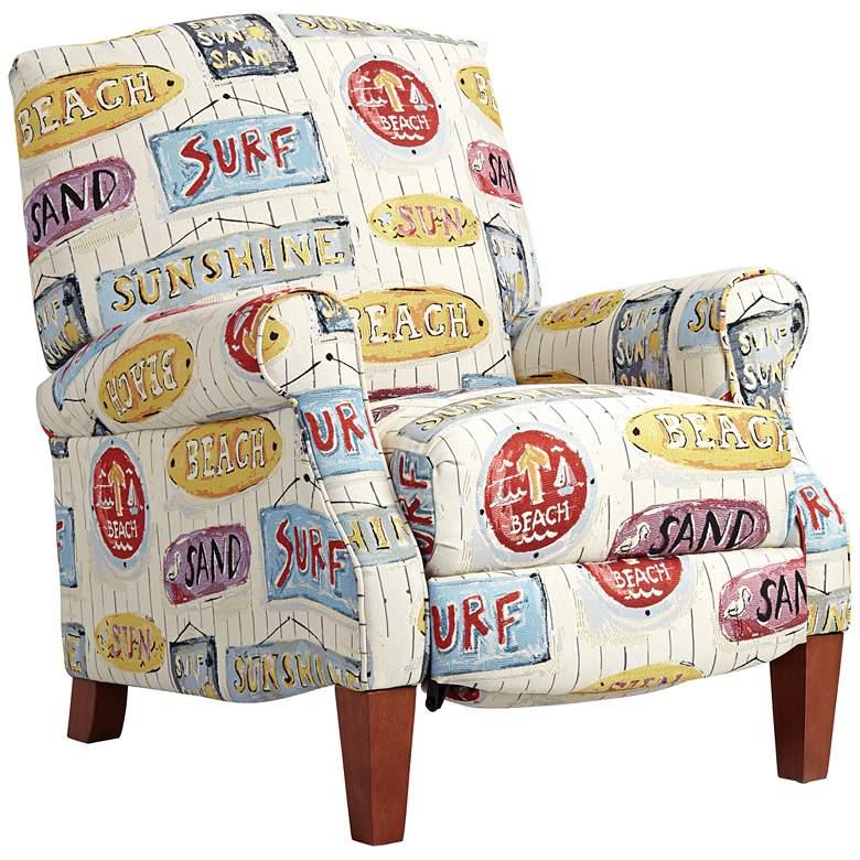 Sunshine Beach 3-Way Coastal Surf Style Recliner Chair