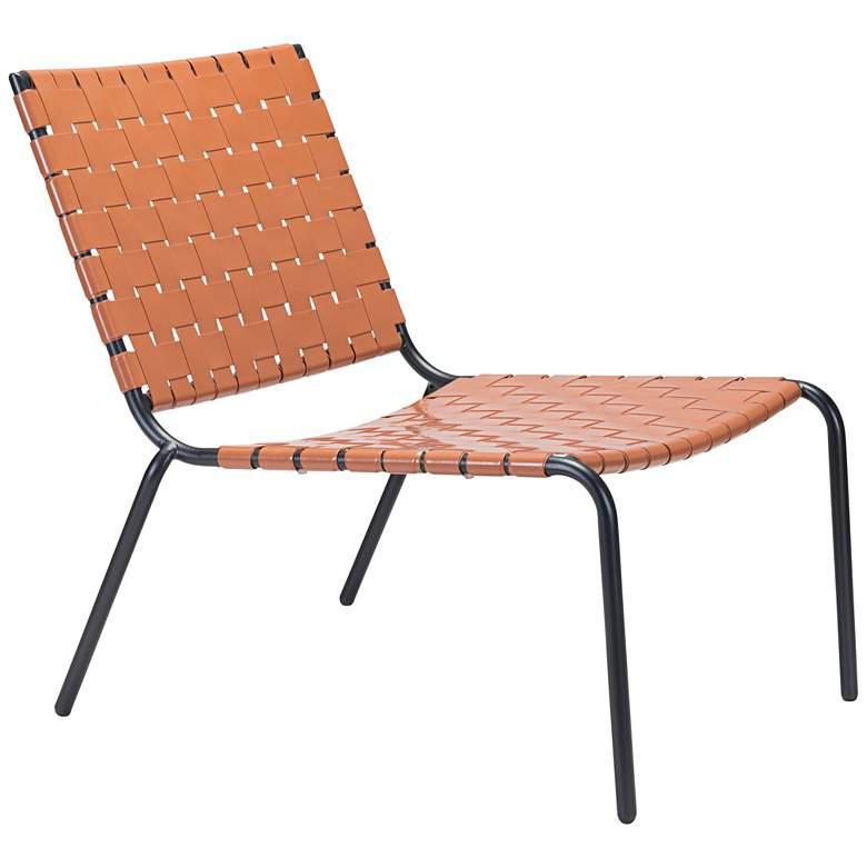 Zuo Beckett Tan Indoor-Outdoor Lounge Chair