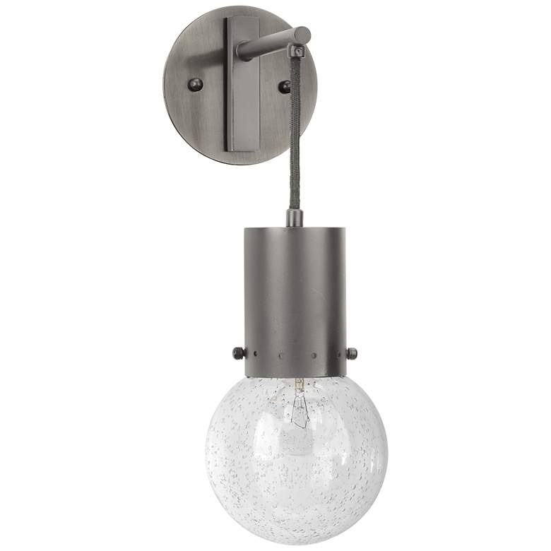 "Jamie Young Strada 14"" High Gun Metal Pendant Wall Sconce"