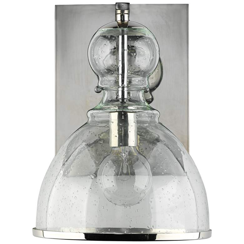 """Jamie Young St. Charles 13"""" High Polished Nickel Wall Sconce"""